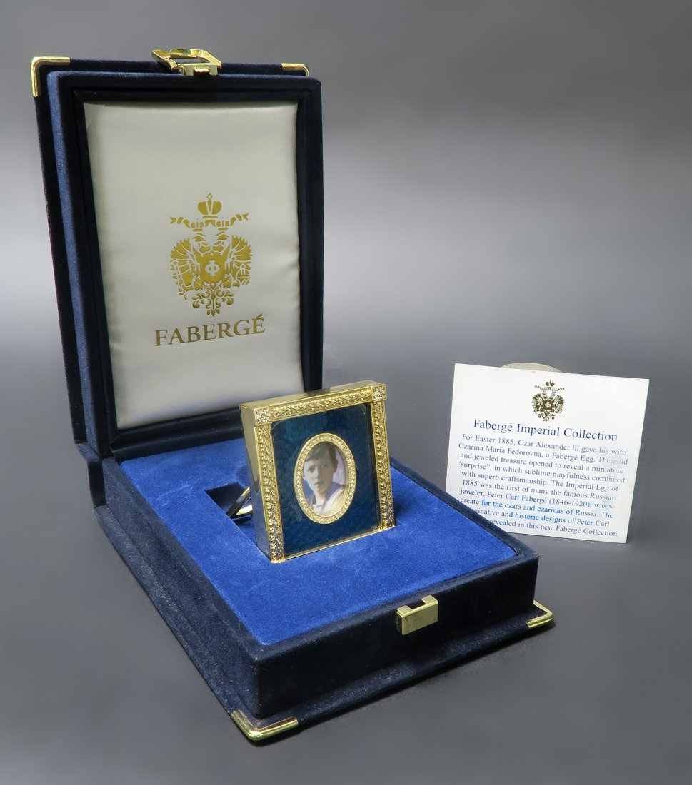 Imperial Faberge Jeweled Frame
