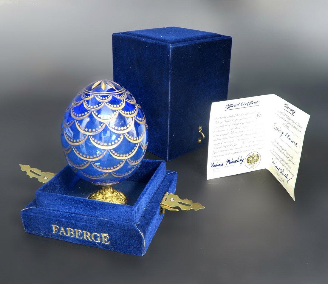 Spring Flower Crystal Egg Faberge Serial Number 91