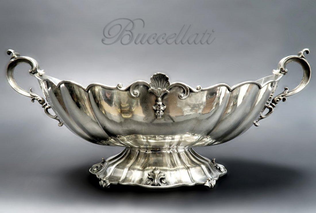 """Italian Silver """"Buccellati"""" Centerpiece. Signed!"""