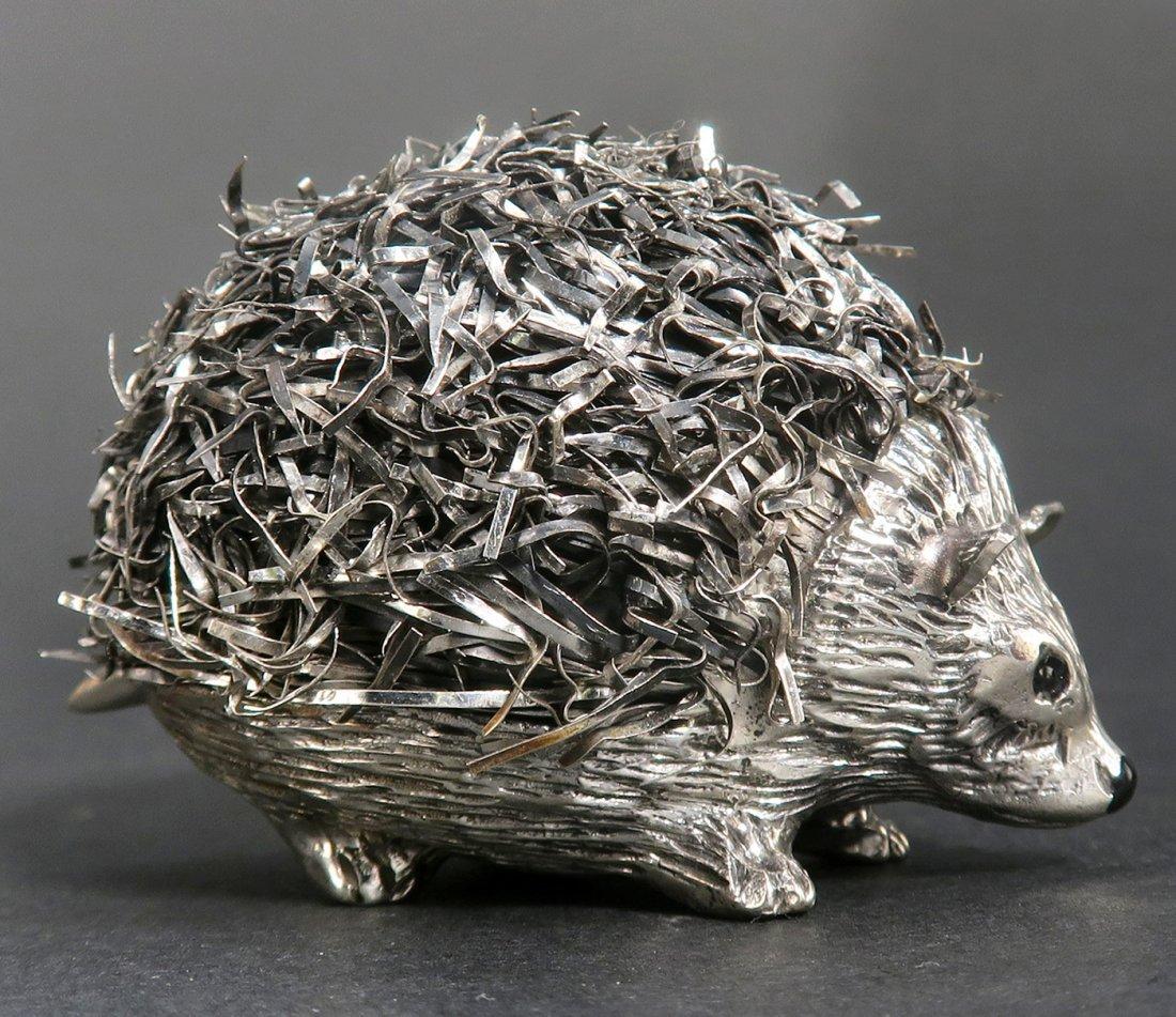 """Mario Buccellati"", Italian Sterling Silver Hedgehog - 2"