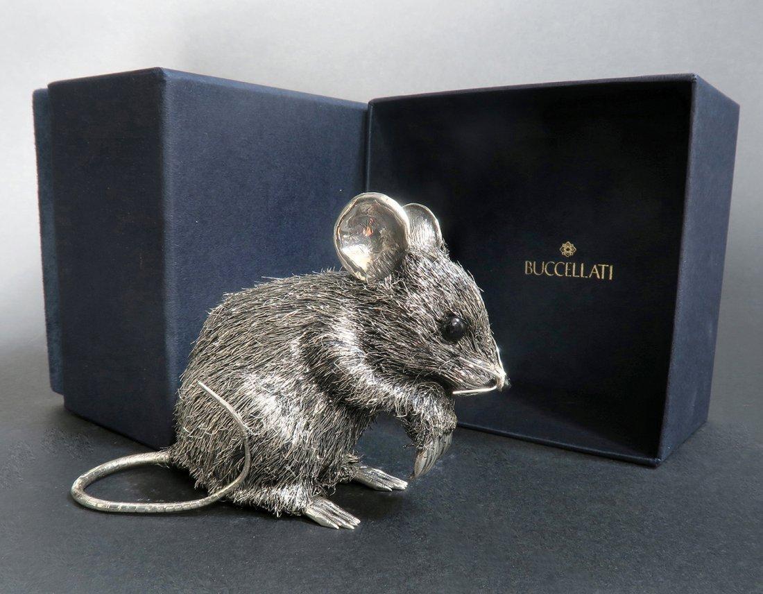 Mario Buccellati, Italian Sterling Silver Mouse