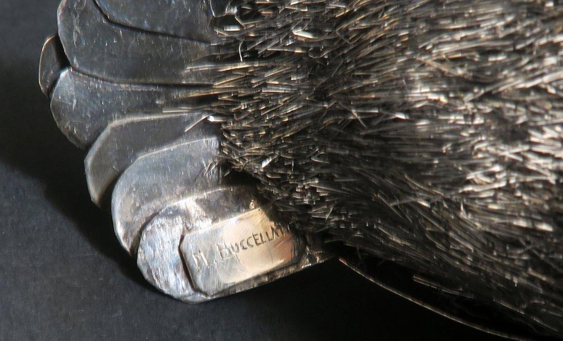Italian Sterling Silver Buccellati Owl - 6