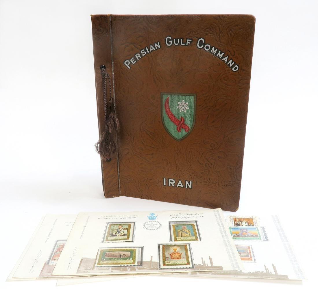 IRAN'S PERSIAN GULF COMMAND SOLDIER PERSONAL ALBUM