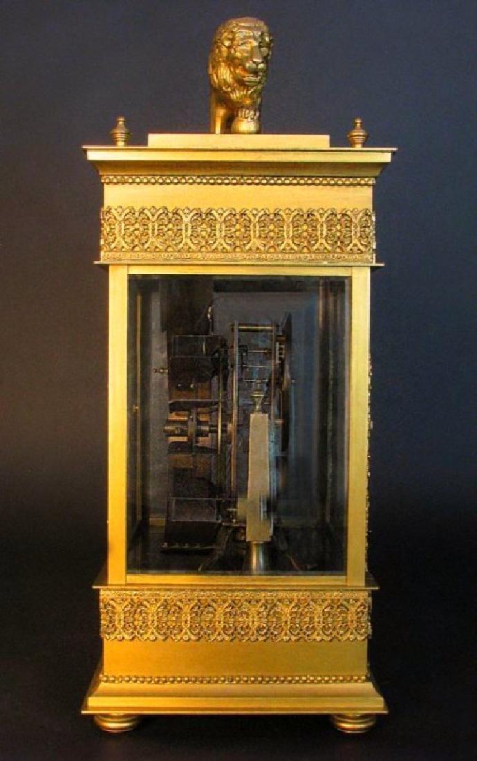 Large French Gilt Bronze Mechanical Falling Ball Clock - 7