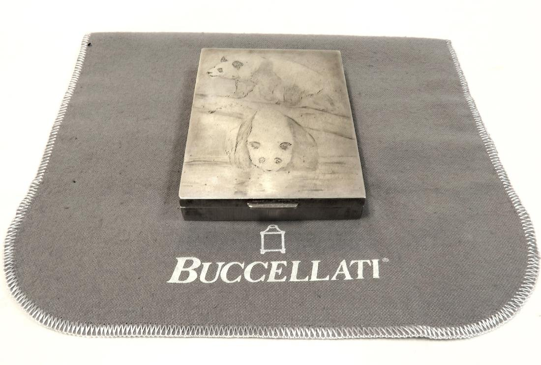 Large Buccellati Sterling Silver Box. Signed!