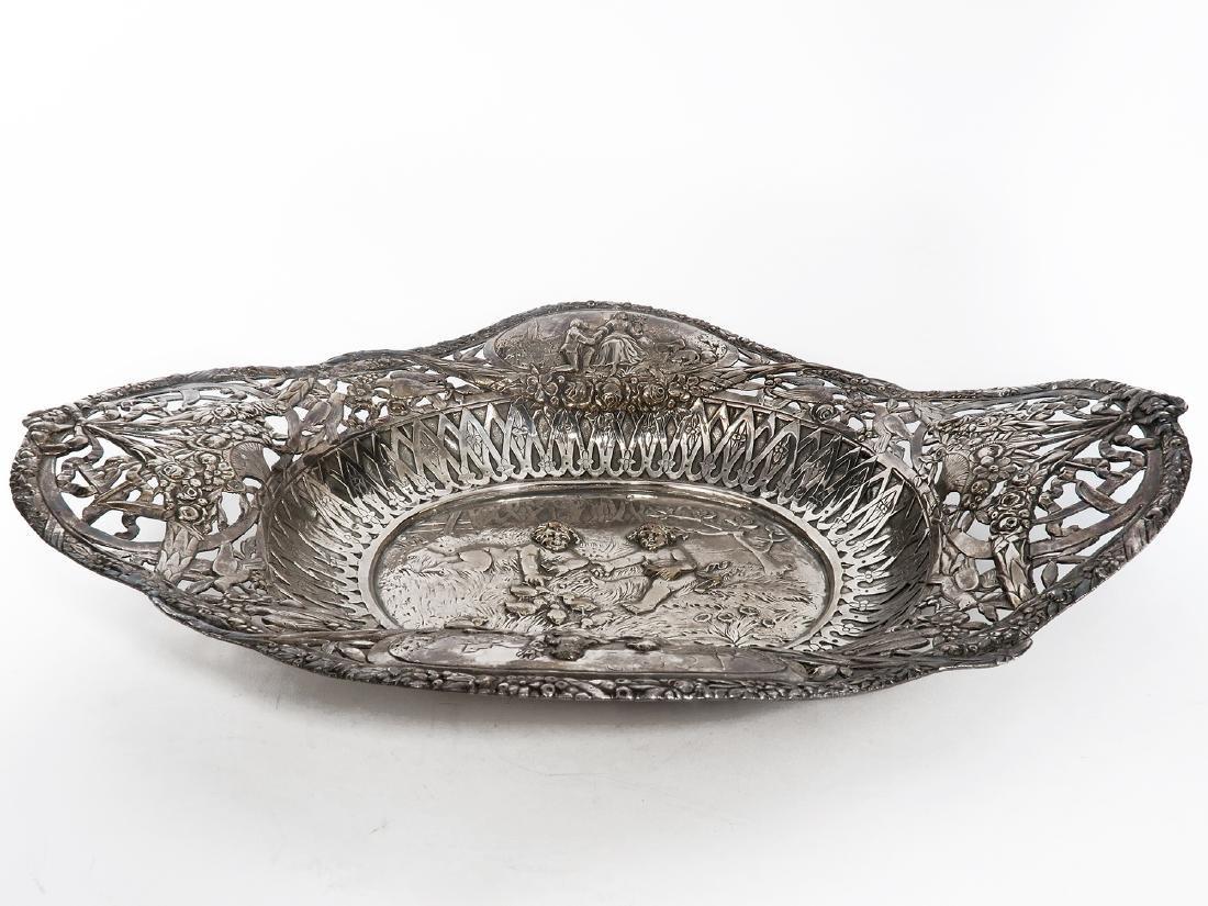 German Silver Centerpiece