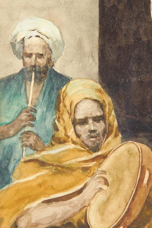 """The Tambourine Dancer"" Orientalist By Fabio Fabbi - 4"