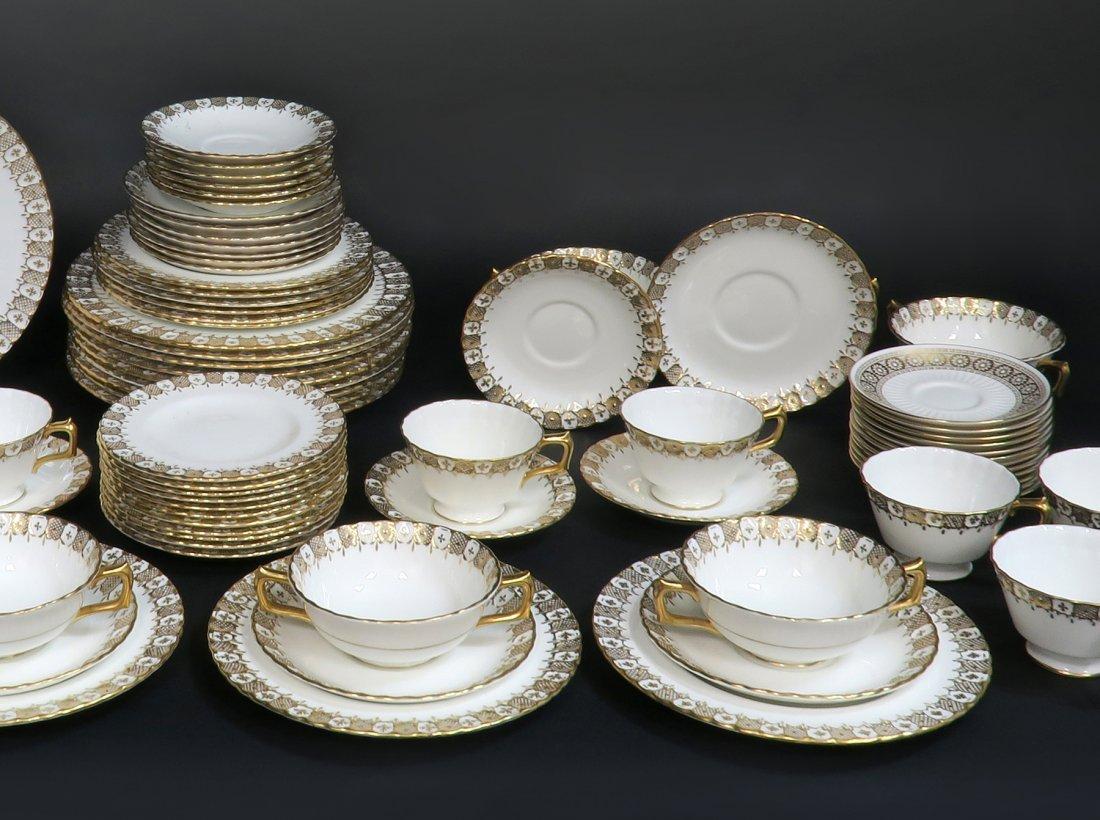 Royal Crown Dinner Plate Set 87 pieces - 2