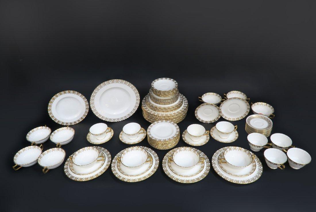 Royal Crown Dinner Plate Set 87 pieces - 4
