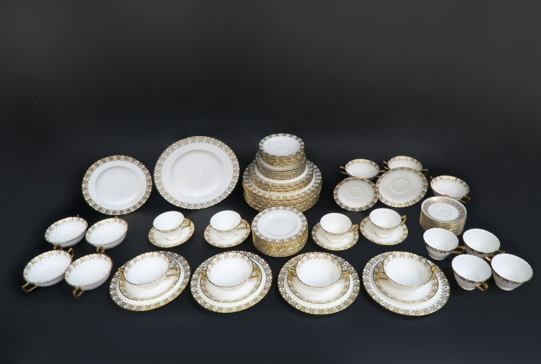 Royal Crown Dinner Plate Set 87 pieces - 4