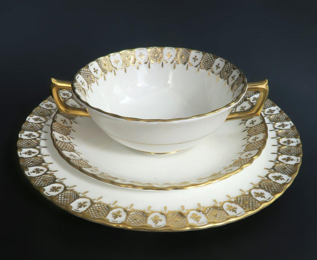 Royal Crown Dinner Plate Set 87 pieces - 5