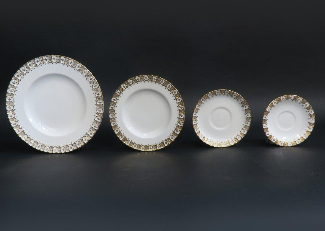 Royal Crown Dinner Plate Set 87 pieces - 7