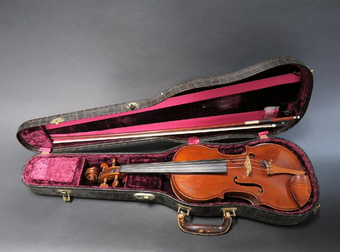 "19th C. French Mirecourt Aubert"" Violin"