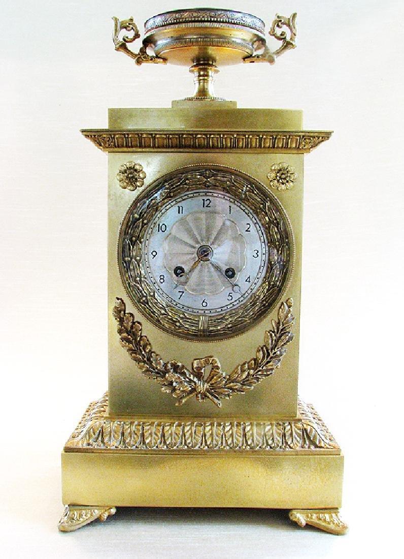 Very elegant French Empire Style Clock