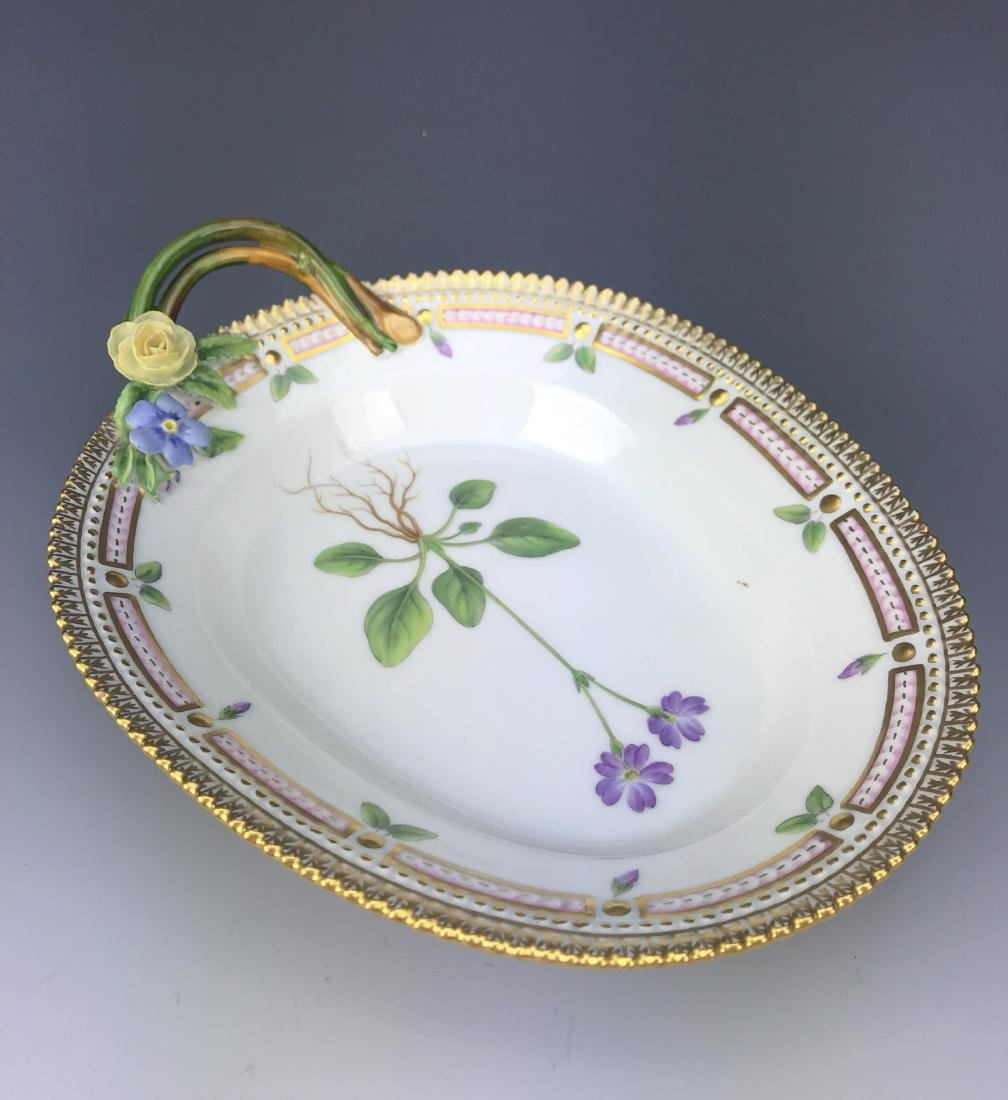 Royal Copenhagen Flora Danica Reticulated Plate