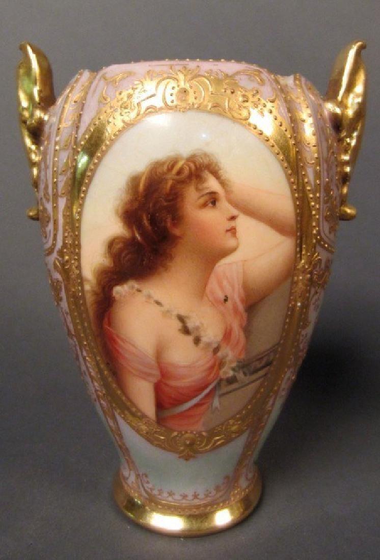 Royal Vienna Vase, 19th Century