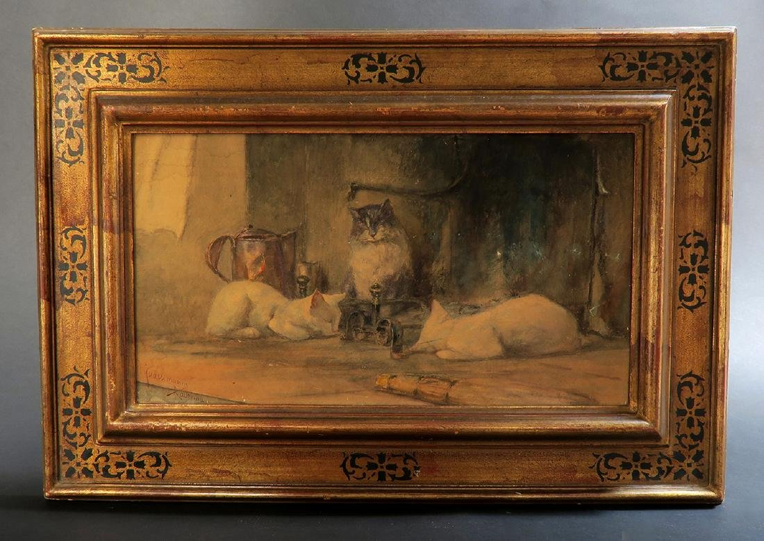"""""""Vittorio Guaccimanni"""" Watercolor Painting"""