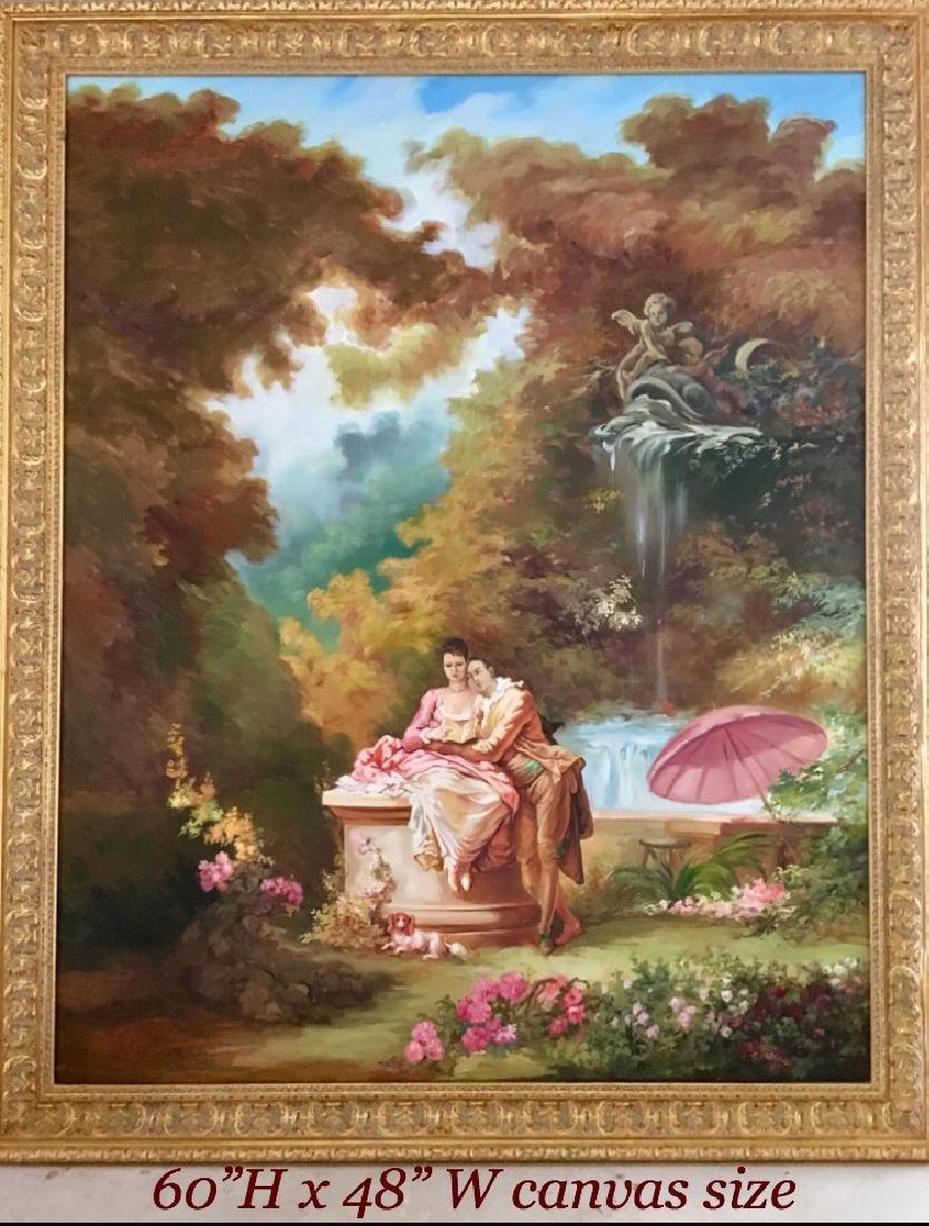 "Lovers Reading Love Poems"" By ""Arthur Zakarian"