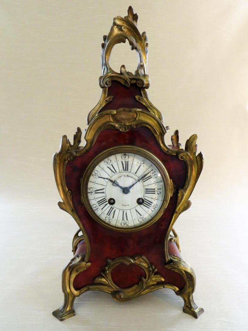 Antique French Boulle Clock