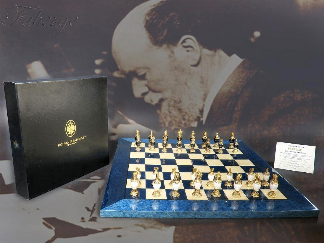 House of Faberge Imperial Chess Set
