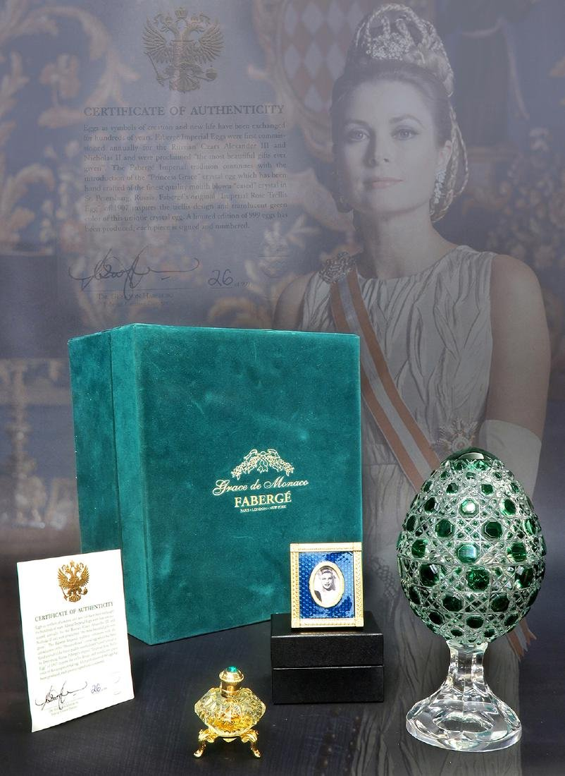 Faberge Grace de Monaco Ltd Edition Egg