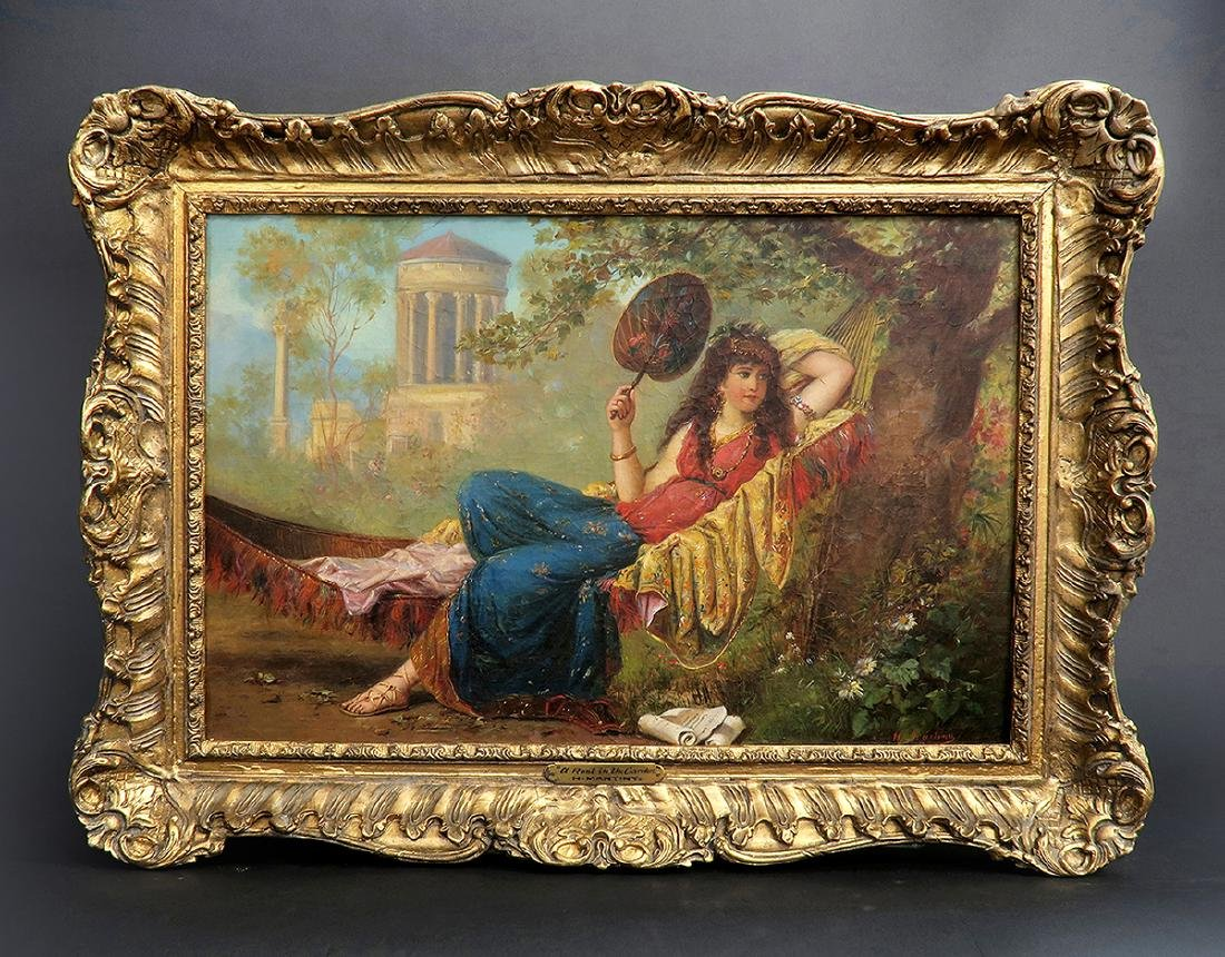 19th C. French Painting (Signed H Mantiny)