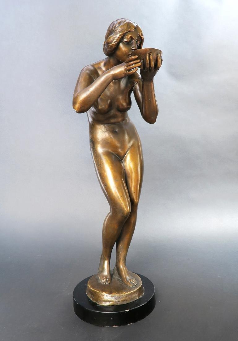 """Klein-Bronze Sculpture By """"Victor Heinrich Seifert"""""""