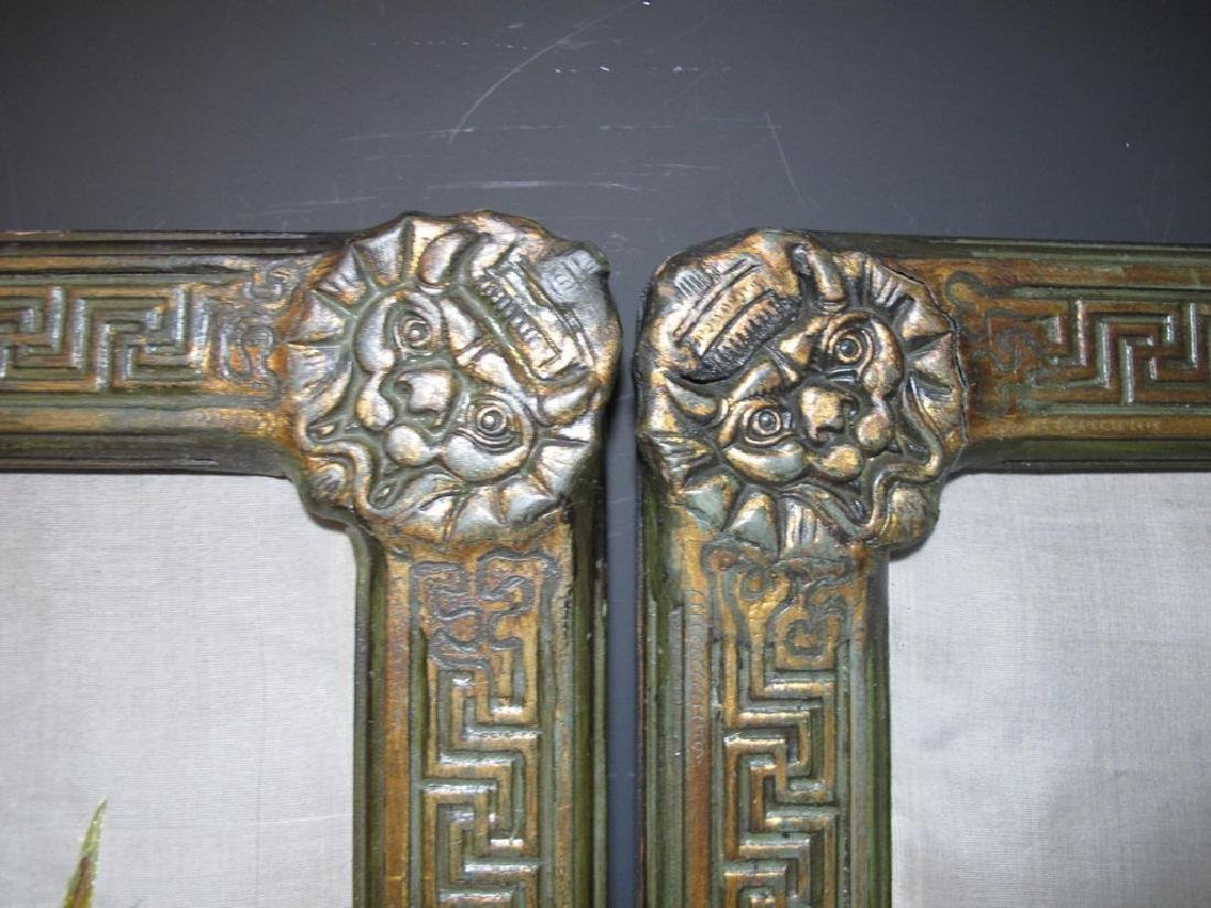 Embroidered Pair of Ancient Chinese Panels - 6