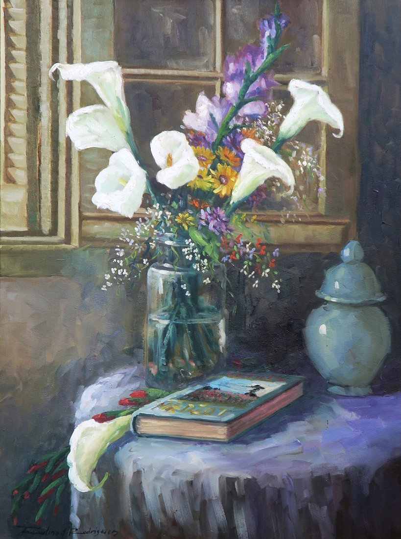 """An Oil on Canvas Painting By """"Rodrigwed"""" - 2"""