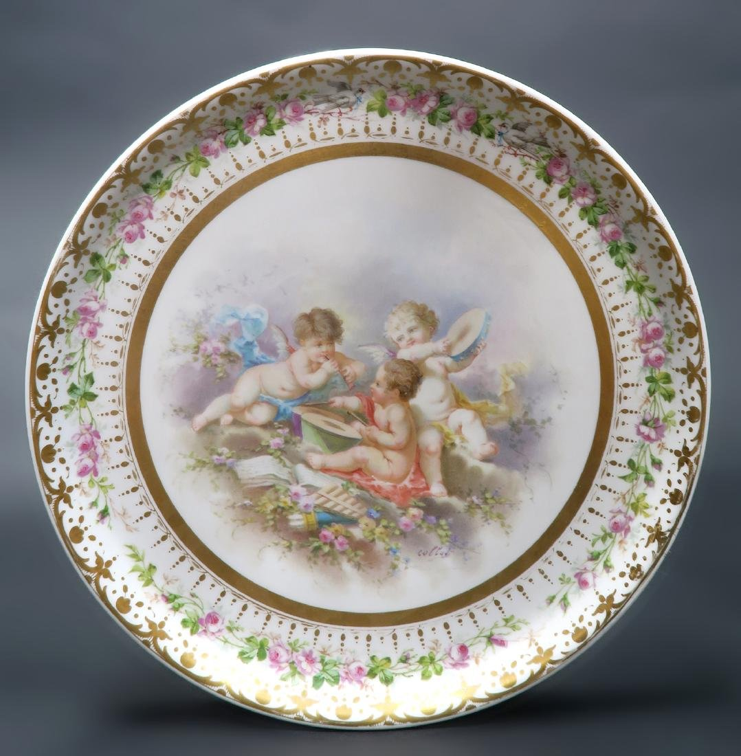 19th C. French Sevres Side Table - 4