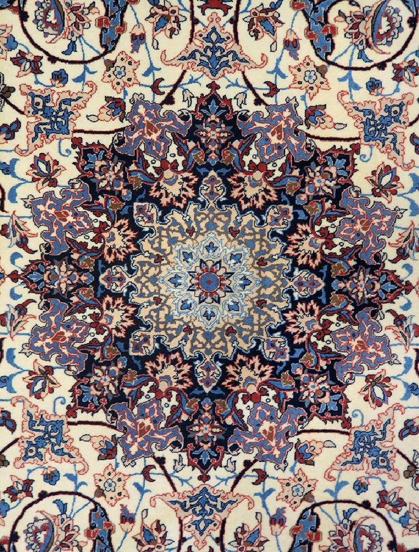 "Authentic Persian Rug from Isfahan By ""Seirafian"" - 2"