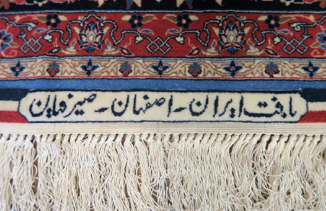 "Authentic Persian Rug from Isfahan By ""Seirafian"" - 3"
