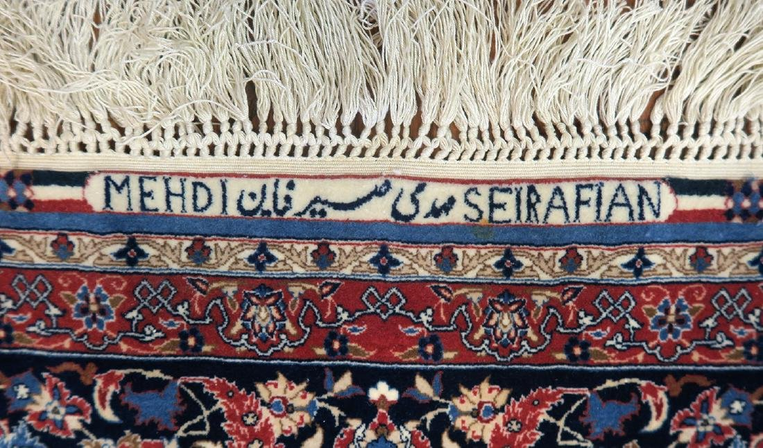 "Authentic Persian Rug from Isfahan By ""Seirafian"" - 4"