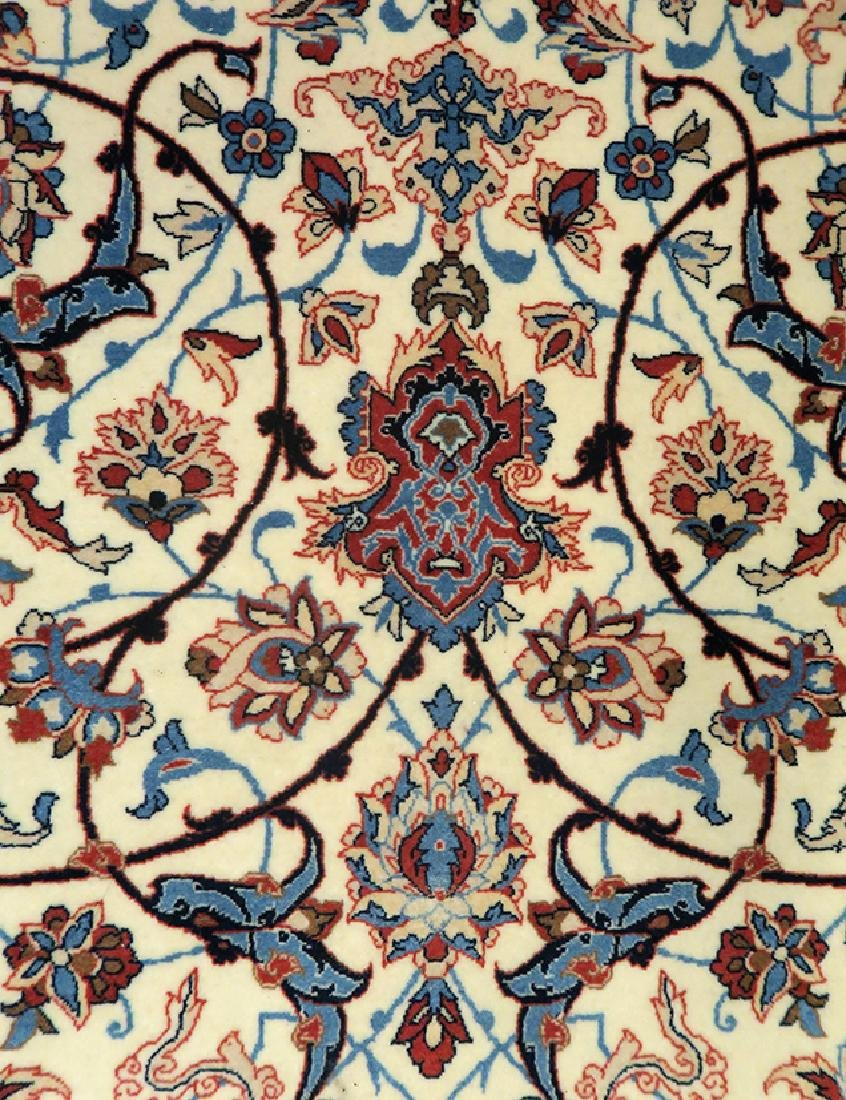 "Authentic Persian Rug from Isfahan By ""Seirafian"" - 5"