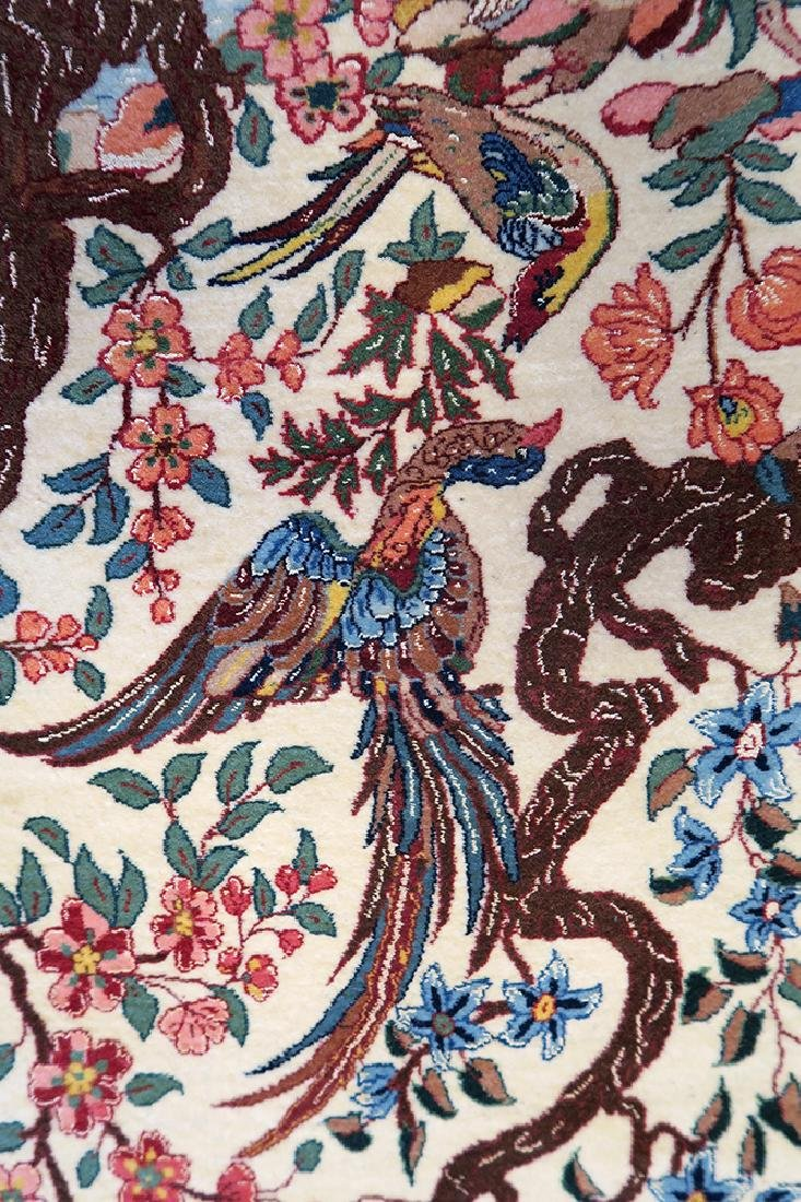 """Authentic Persian Rug from Isfahan By """"Seirafian"""" - 3"""