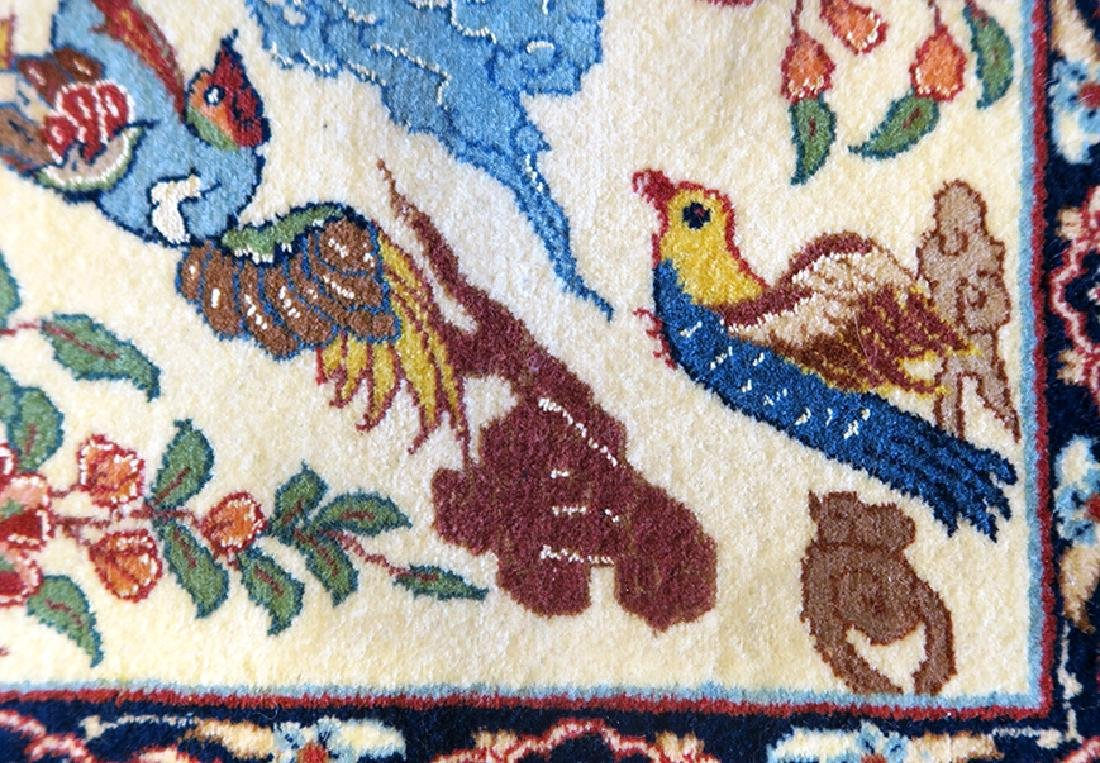 """Authentic Persian Rug from Isfahan By """"Seirafian"""" - 5"""