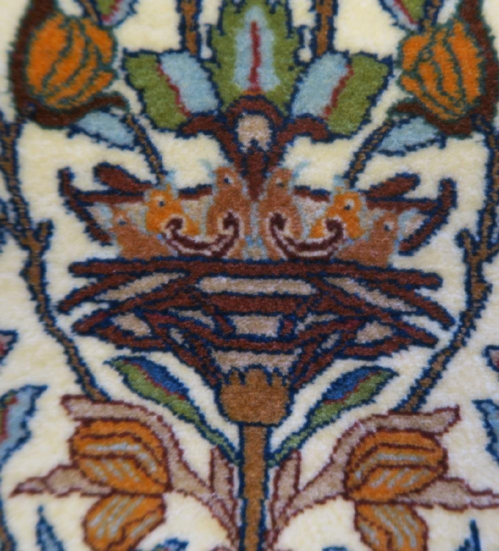 """Authentic Persian Rug from Isfahan By """"Seirafian"""" - 6"""