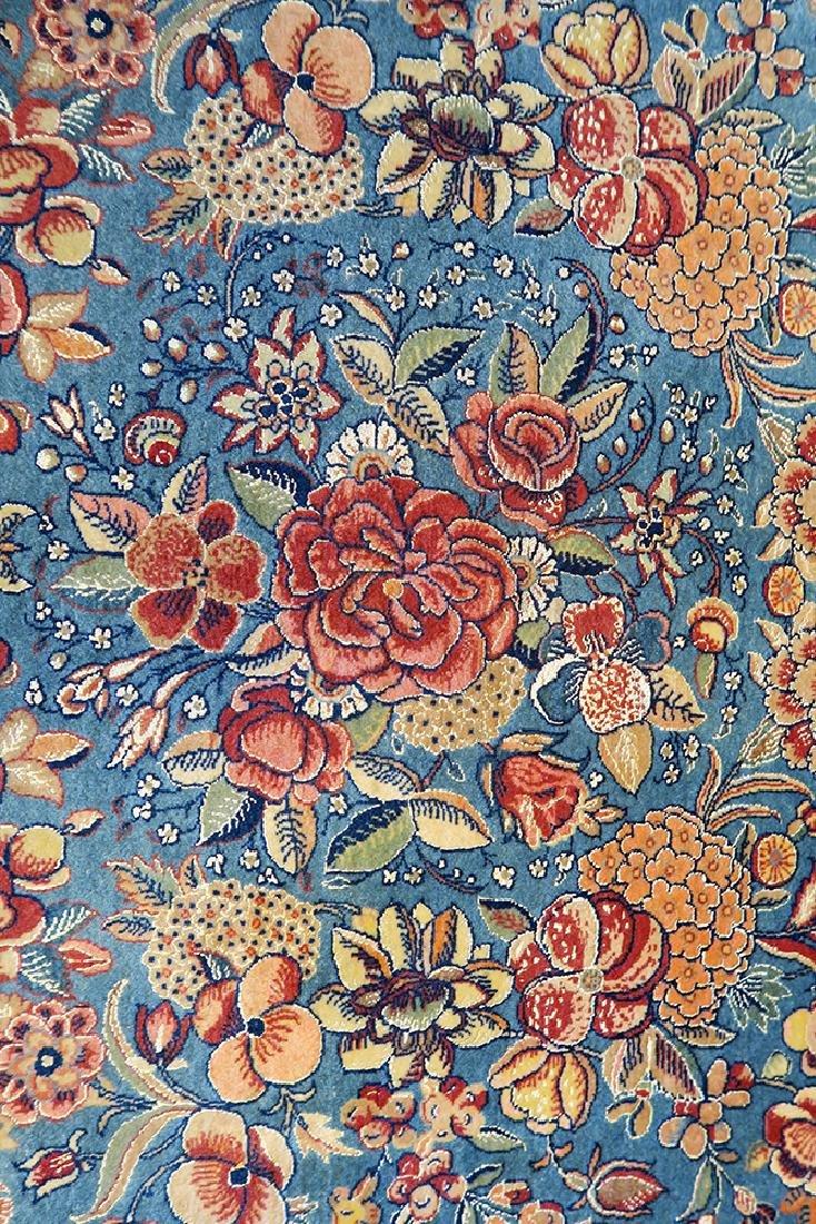 "Isfahan Silk Warp Authentic ""Seirafian"" Persian Rug - 2"