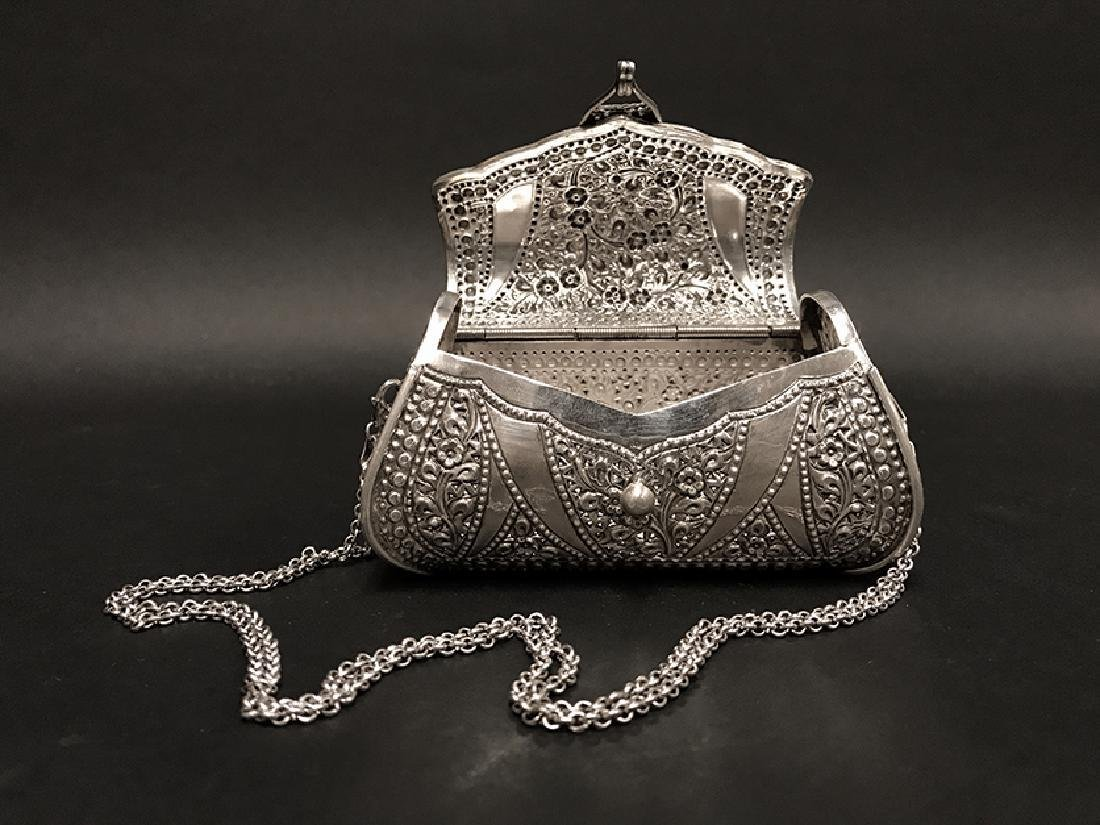 Sterling Silver Decorative Hand Bag