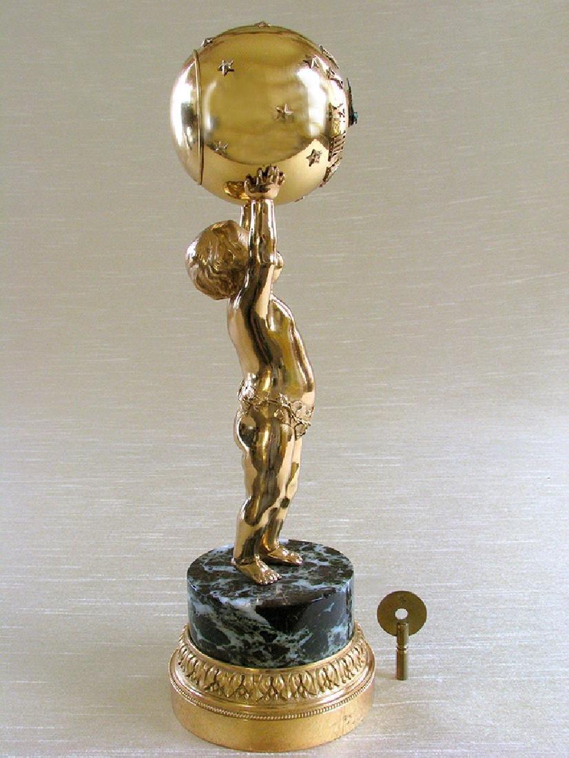 French Bronze D'ore Clock - 2
