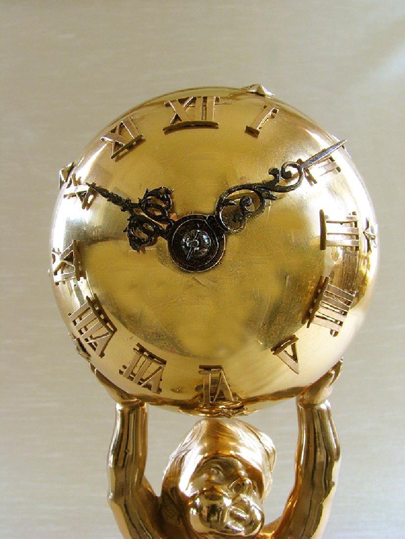 French Bronze D'ore Clock - 7