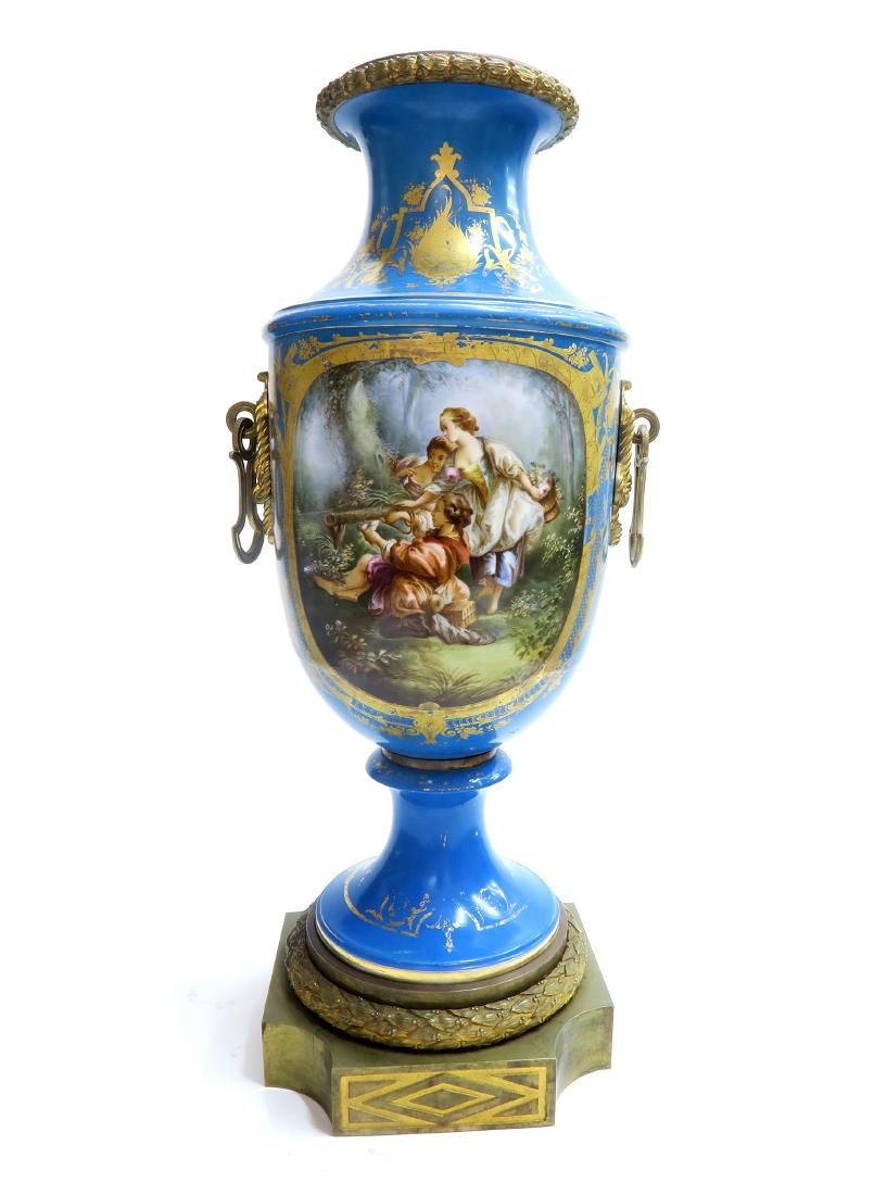 19th C. Monumental French Sevres Urn