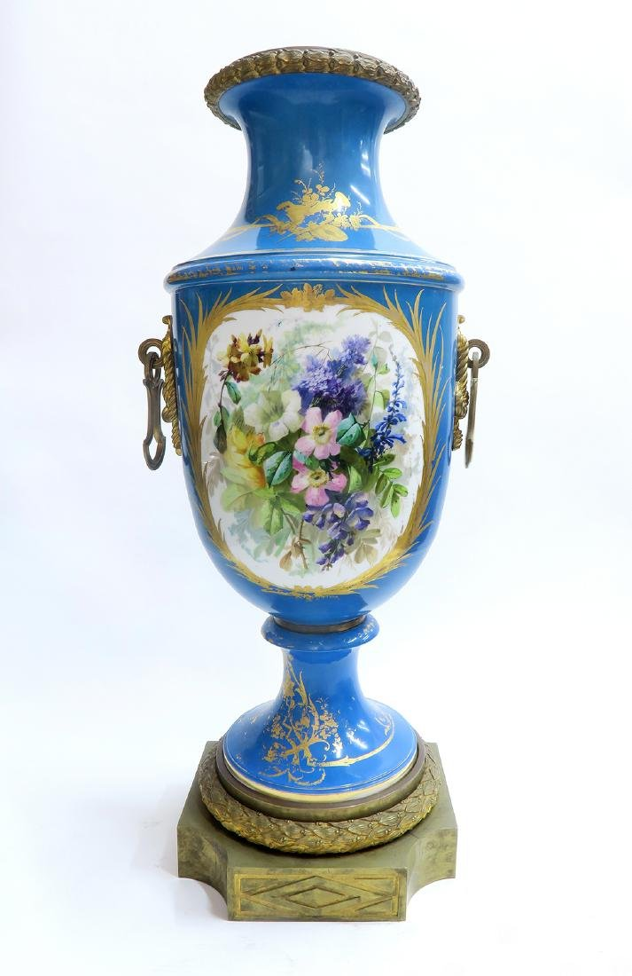 19th C. Monumental French Sevres Urn - 4