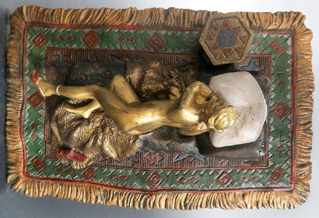 Cold Painted Orientalist Vienna Bronze by Bergman - 6