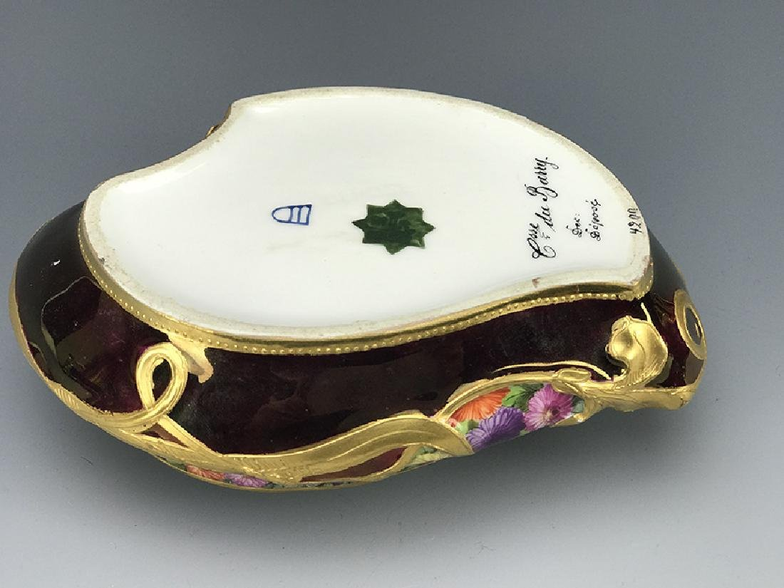 Royal Vienna Hand Painted Jewelry Box, 19th C. - 3