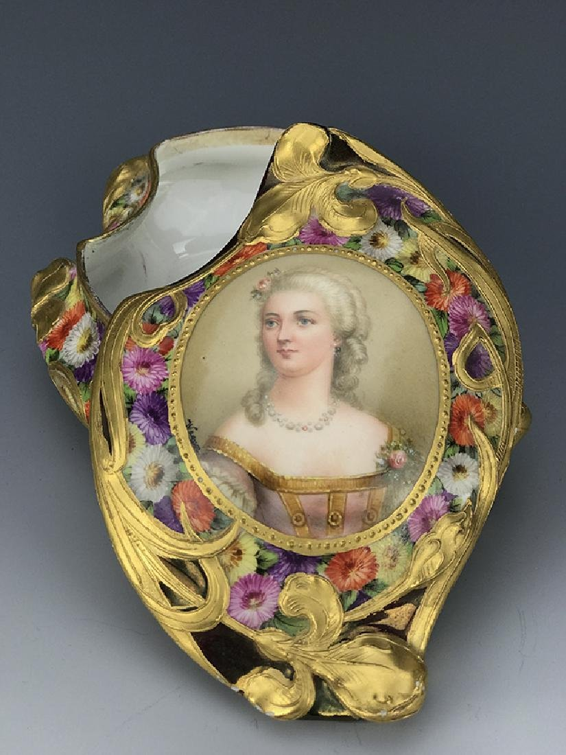 Royal Vienna Hand Painted Jewelry Box, 19th C. - 4