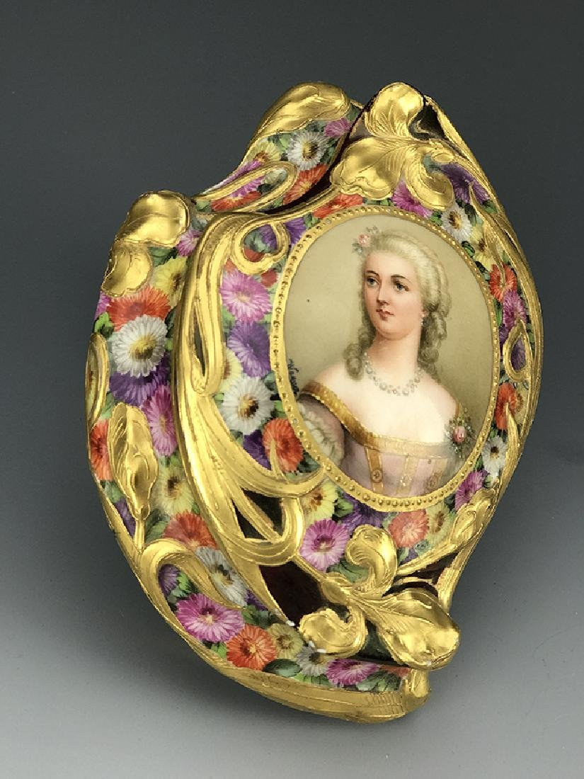 Royal Vienna Hand Painted Jewelry Box, 19th C. - 6