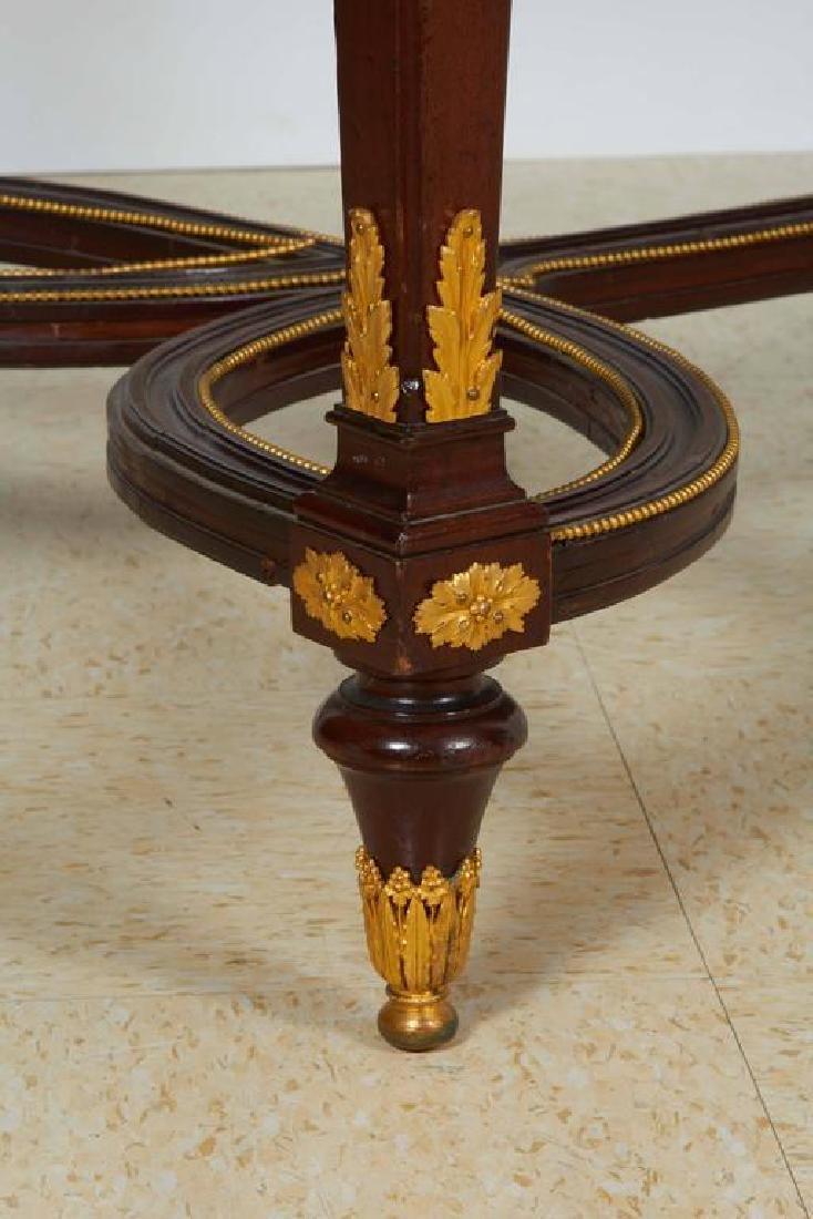Fine Ormolu Jasperware Wedgewood-Mounted Mahogany Table - 3