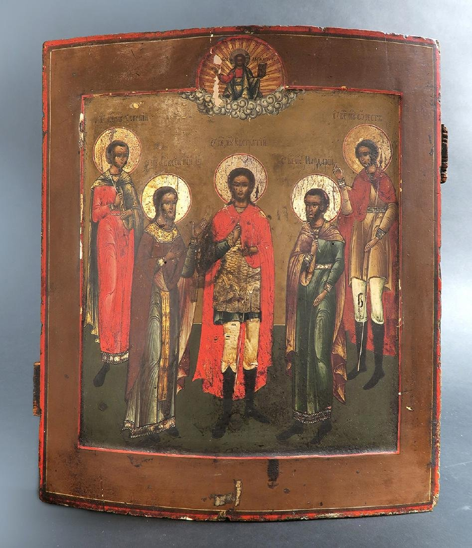 18th C. Russian Icon