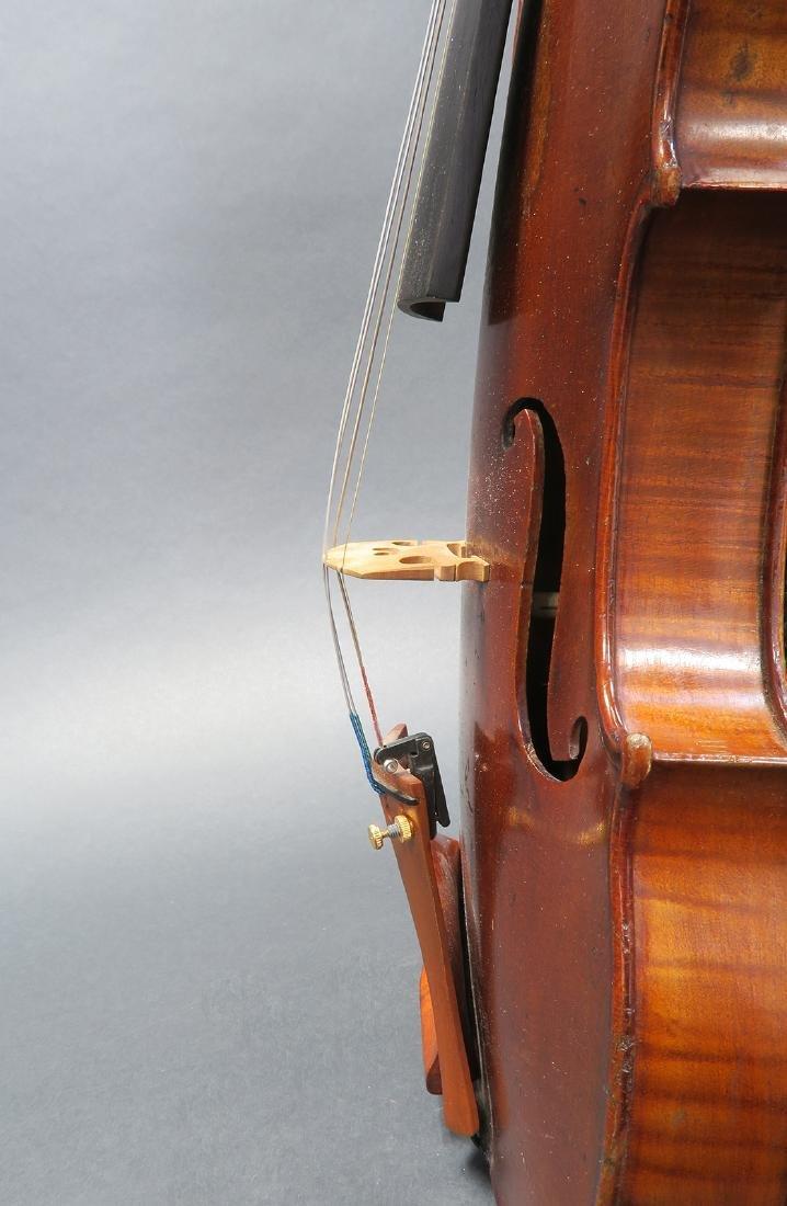 """19th C. French Mirecourt Aubert"""" Violin - 7"""